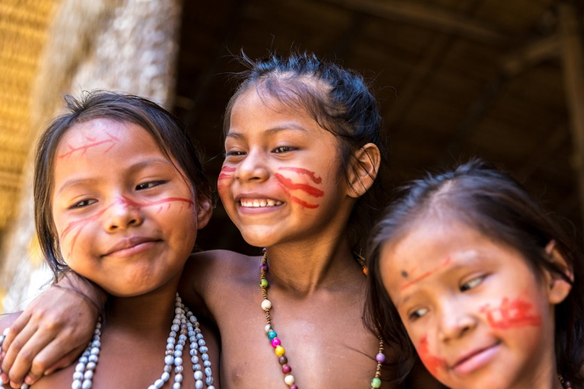 The aboriginal people of the Brazilian Amazon