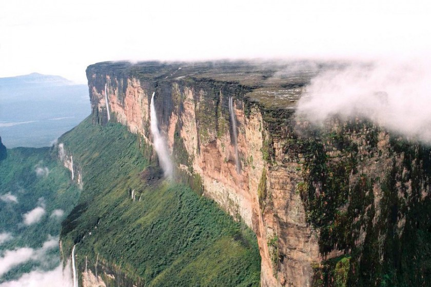 Mount Roraima scarp slope