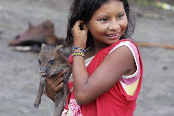 Yanomami girl