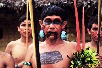 Yanomami  indigenous people of the Brazilian Amazon