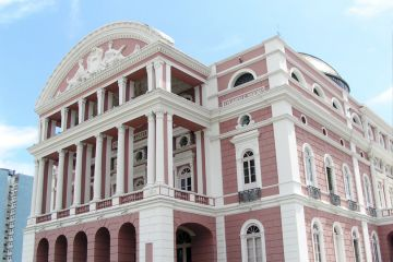 Manaus' opera house Teatro Amazonas