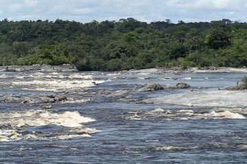 Rapids near São Gabriel da Cachoeira